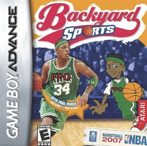 Backyard Basketball Ds by Backyard Basketball 2007 Gba Gameboy Advance Gba Rom