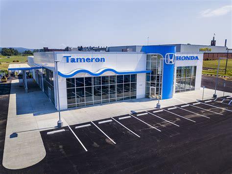 new dealership for tameron honda gadsden dunn building