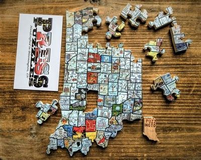 Bloomington Handmade Market - vendor feature press puzzles bloomington handmade market