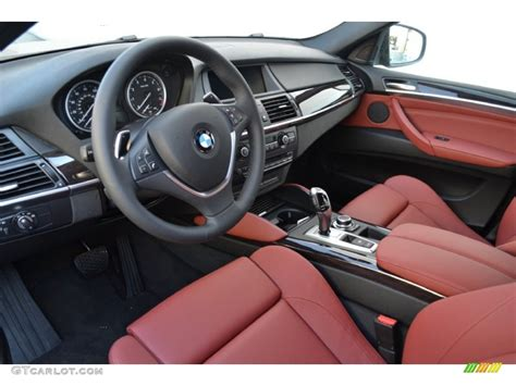 Bmw X6 Red Interior Wallpaper 1024x768 4606
