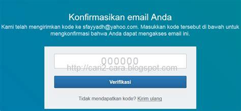 email verifikasi cara membuat akun linkedin terbaru cari2 cara