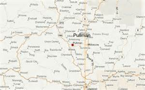 Pullman Washington Map | Car Interior Design