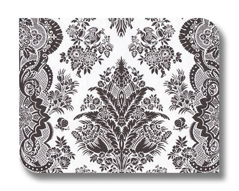 Damask Craft Paper - items similar to decoupage paper napkin serviette x 1 use