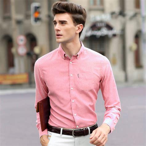 Real Madrid Black White Kemeja Pria Slim Fit Pakaian Lengan Panjang pink mens shirts store artee shirt
