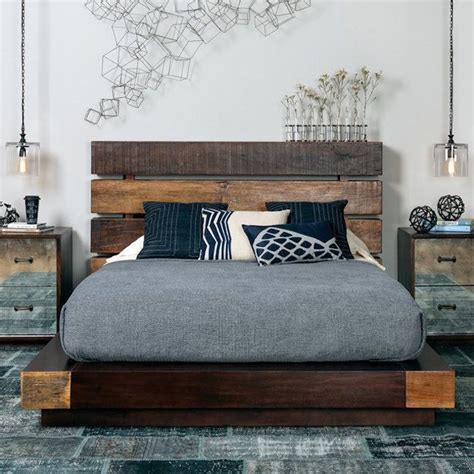 dominance in the bedroom best 25 reclaimed wood bed frame ideas on pinterest