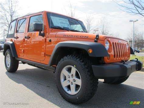 orange jeep wrangler unlimited crush orange 2012 jeep wrangler unlimited rubicon 4x4