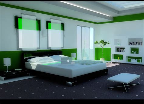Interior Design Ideas For Bedroom Green Color Bedrooms Interior Design Ideas Interior