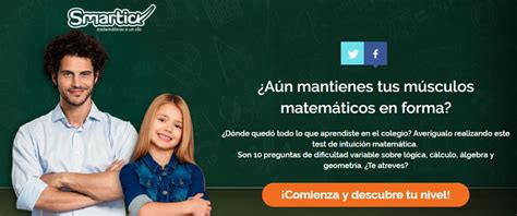 hacer preguntas de matematicas online un test para comprobar los conocimientos matem 225 ticos