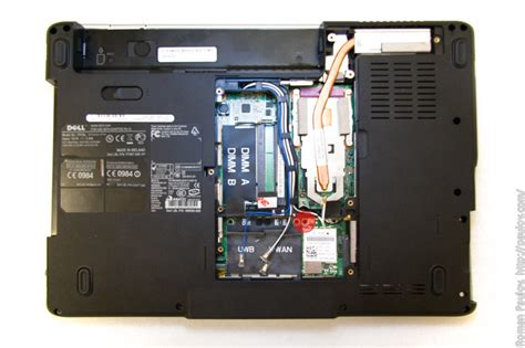 Laptop Dell Pp29l to disassemble dell inspiron 1525 pp29l and clean cooling system paulov s blogofolio