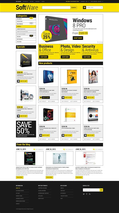 software store magento theme 53175