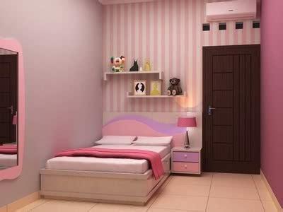 wallpaper kamar tidur anak perempuan minimalis interior eksterior rumah minimalis mendesain kamar tidur
