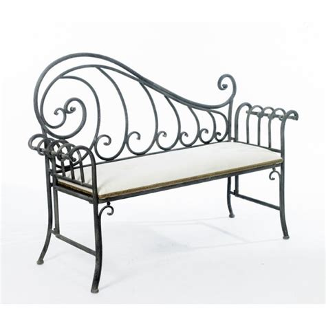 wrought iron butterfly bench 15 best ideas about wrought iron chairs on pinterest