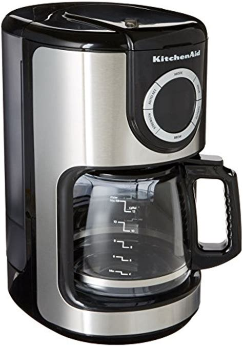 coffee consumers kitchenaid kcm1202ob 12 cup glass