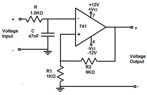 high pass filter using ic 741 how to build an active low pass filter circuit with an op