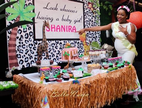 Monkey Themed Baby Shower by Bn Living Shanira S Safari Baby Shower Partyfully Yours