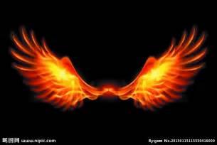火焰翅膀矢量图 背景底纹 底纹边框 矢量图库 昵图网nipic com
