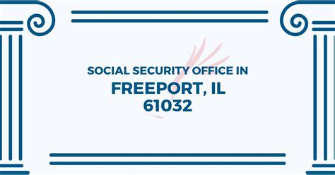 social security office in freeport illinois 61032 get