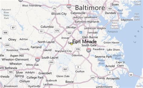 maryland map fort meade fort meade weather station record historical weather for