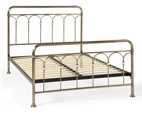 Serene Shilton 6ft Super King Size Antique Brass Metal Bed Antique King Bed Frame