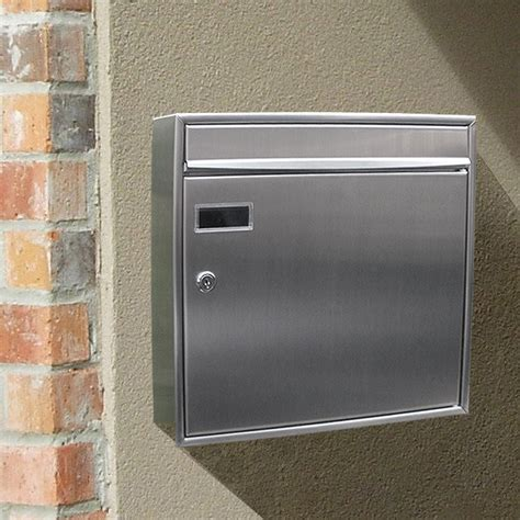 contemporary mailboxes european home stainless steel modern contemporary view