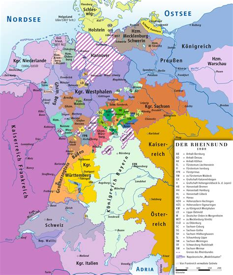 political maps file rheinbund 1808 political map png wikimedia commons