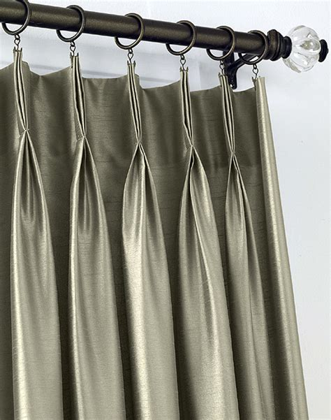 making pinch pleated draperies doors and windows blinds miami draperies curtains