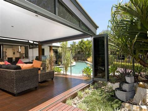 outdoor area outdoor living design with pool from a real australian