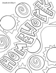 Galerry homework coloring pages