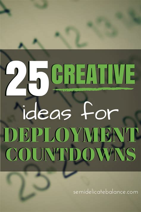 Decorate My House 25 Creative Ideas For Deployment Countdowns