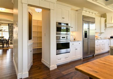 Building Traditional Kitchen Cabinets How To Build A Pantry Cabinet Traditional Style For Kitchen With Walk In Pantry By Farinelli