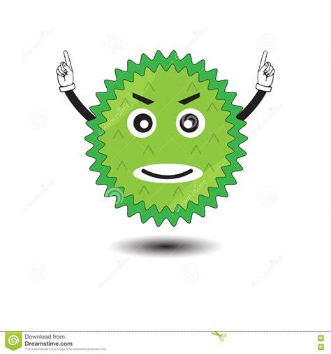 durian cartoon vector illustration vector illustration