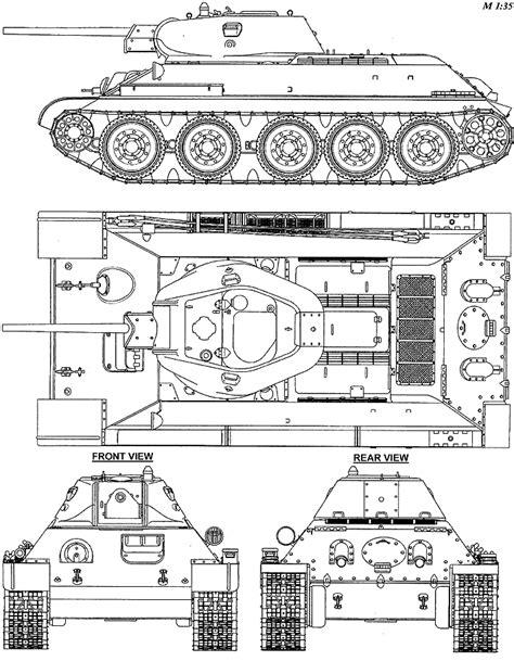 1940 T-34/76 [WIP] — polycount T 34 Blueprints