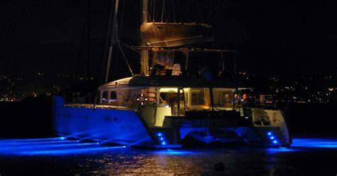 yacht underwater lights underwater lights just catamarans