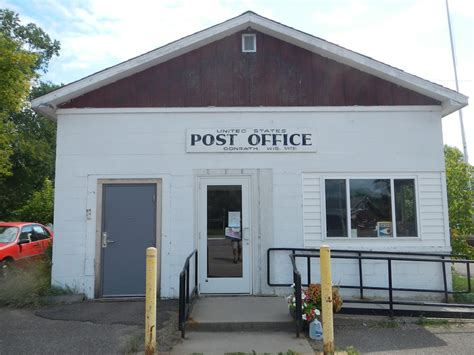 Wi Post Office by Conrath Wisconsin Post Office Post Office Freak