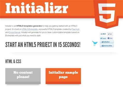 html5 template generator image search results