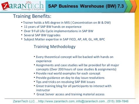 how to upgrade to bw 73 sap bw 7 3 training from zarantech