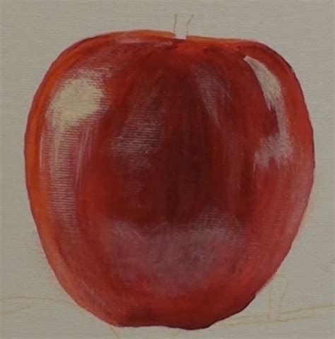 acrylic painting apple how to paint apples in acrylic lessons