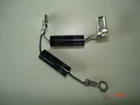 que es capacitor y diodo no encuentro diodo yoreparo