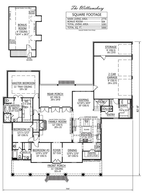 acadian floor plans madden home design acadian house plans country