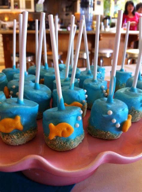 The Sea Baby Shower Theme by Idea For Your The Sea Baby Shower Theme These Are Some Adorable Cake Pops That Would