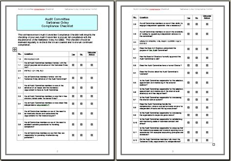 financial audit checklist template 35 excellent audit report form template exles thogati
