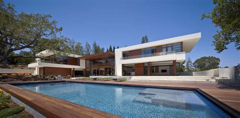california contemporary homes world of architecture how homes in silicon valley look like
