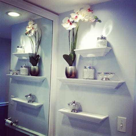 bathroom shelves decorating ideas bathroom bathroom wall decor easiest way to beautify