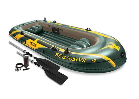 inflatable boat online india intex seahawk 4 boat set inflatable buy now online