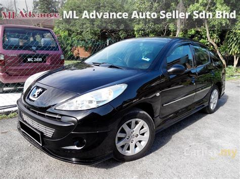 peugeot sedan 207 peugeot 207 2011 sv 1 6 in selangor automatic sedan black