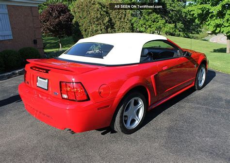 ford mustang 35th anniversary 1999 ford mustang gt convertible 35th anniversary year