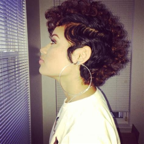 fro hawk hair cut curly mohawk afro fro hawk curly hairstyles coiffed