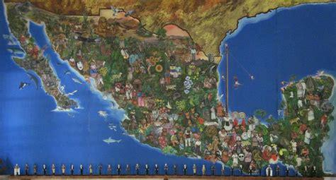 tourist map of mexico mexiko touristische karte