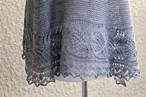 knitting a circle shape this knit shawl is made of 100 wool in lovely grey
