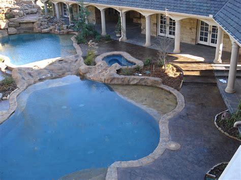 concrete design pool